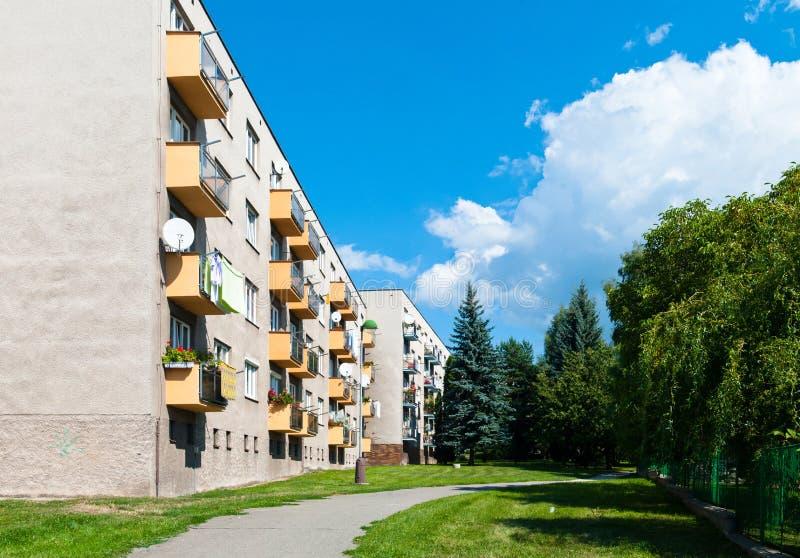 Apartment Block stock photos
