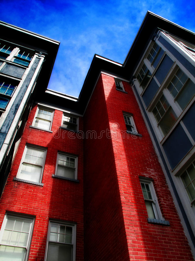Download Apartment Building stock image. Image of outdoors, blue - 16431643