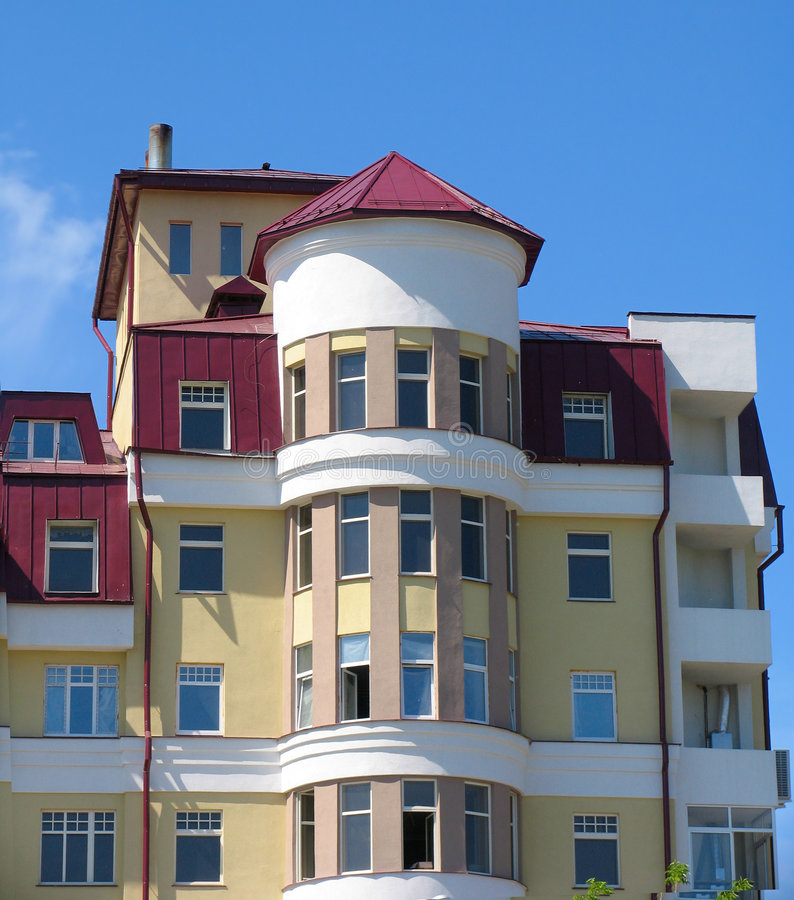 Download Apartment building stock image. Image of russia, modern - 169843