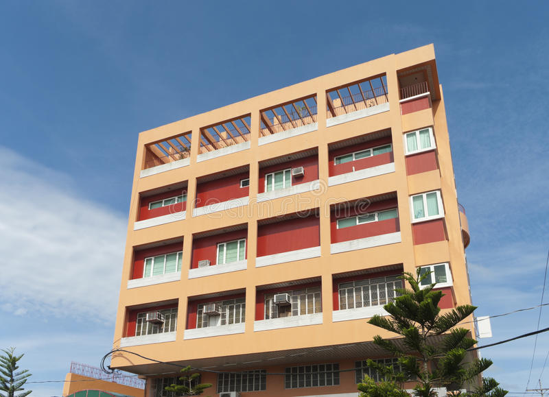 Download Apartment building stock photo. Image of property, lots - 25425228