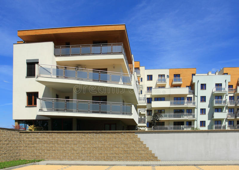 Download Apartment building stock image. Image of community, exterior - 26514319
