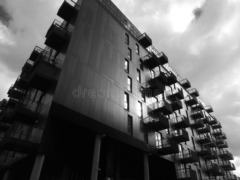 Apartment Building Exterior royalty free stock images