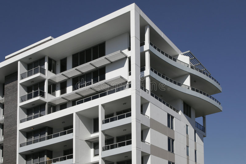 Apartment Building In Sydney, Australia stock photos