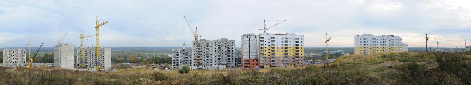 Download Apartment Building Under Construction Stock Photo - Image: 18161152