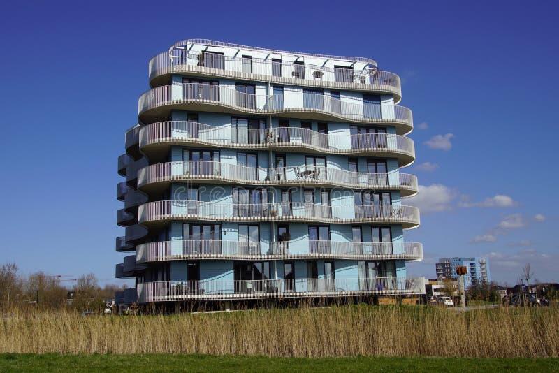 Apartment building Villa Homerus royalty free stock photos
