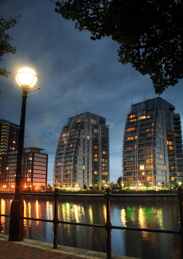 Download Apartment Buildings In Salford Keys Stock Photo - Image: 28727036