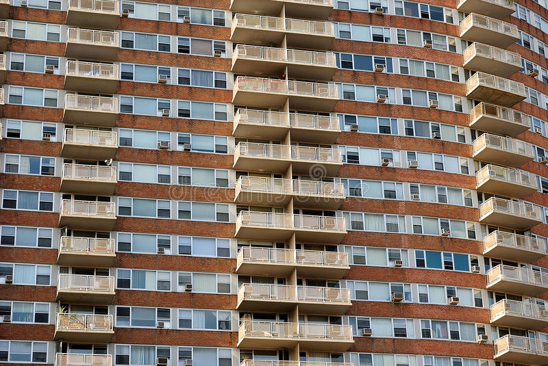 Download Apartment Complex stock photo. Image of brick, curved - 13770194