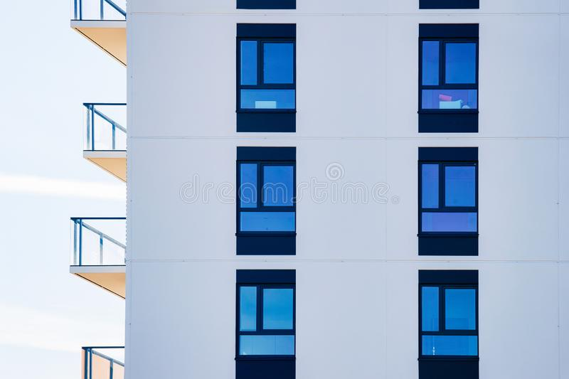 Apartment home and house residential building real estate. Concept royalty free stock photos