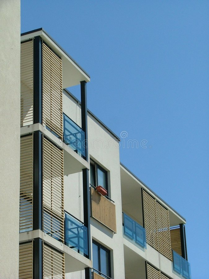 Apartment house royalty free stock photo