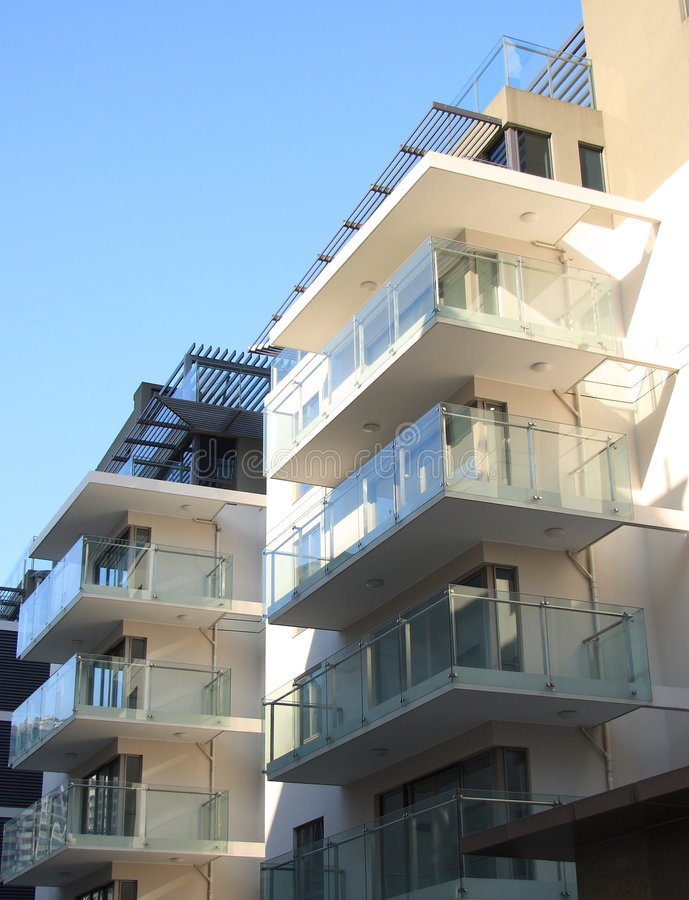 Apartment house royalty free stock photos