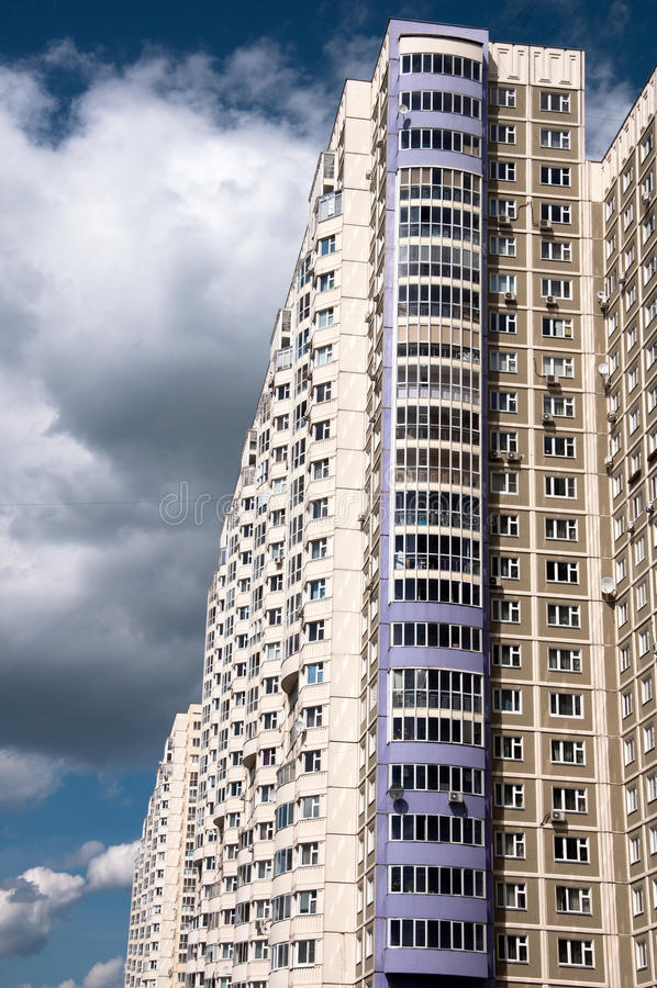 Download Apartment House In Moscow, Russia Stock Photo - Image: 26566912