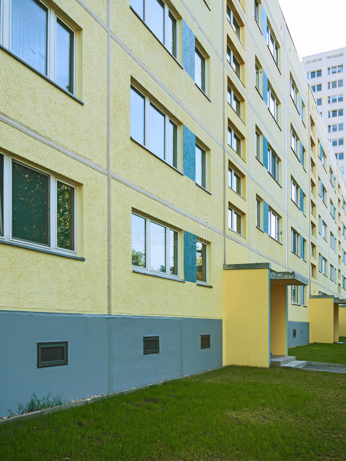 Apartment houses stock photo