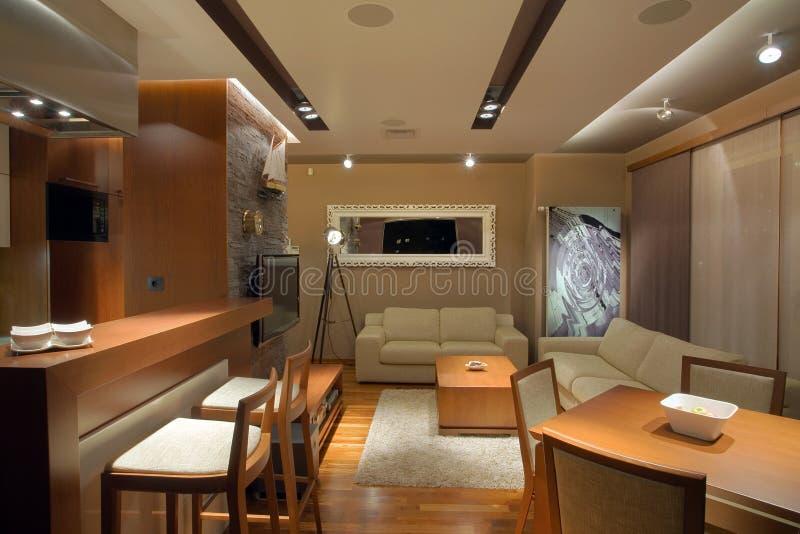 Apartment Interior royalty free stock photos