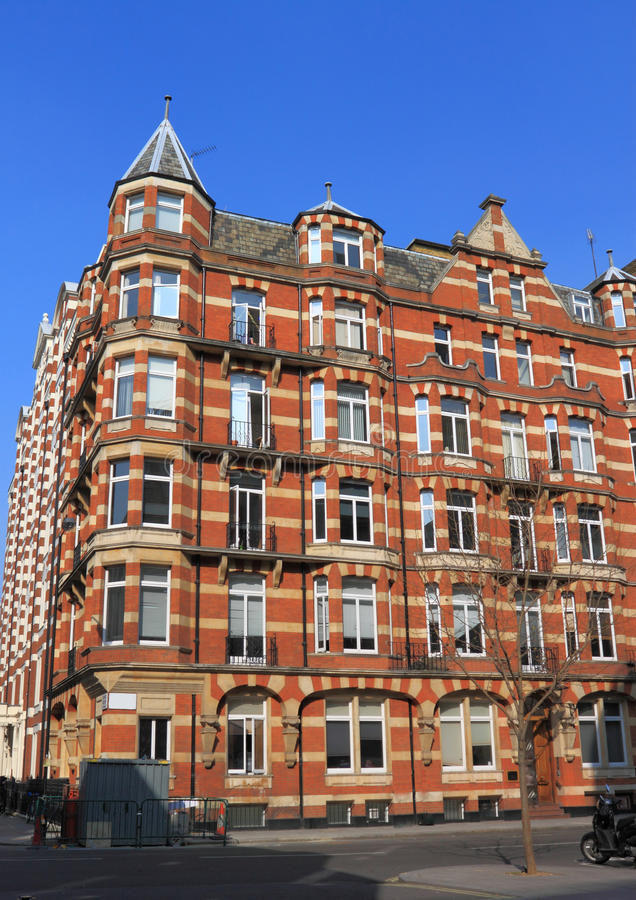 Download Apartment at London stock photo. Image of building, property - 24302292