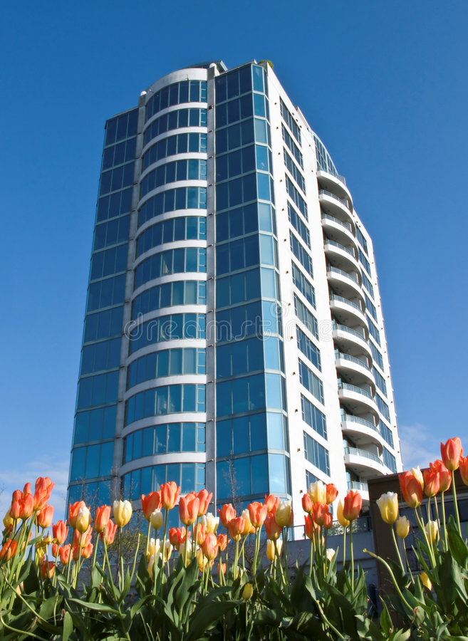 Apartment tower royalty free stock image
