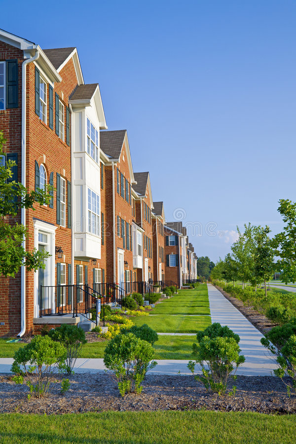 Download Apartments stock photo. Image of brick, living, typical - 7485538