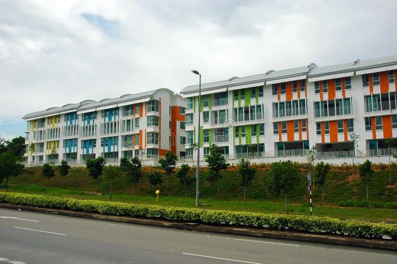 Apartments. Residental apartments royalty free stock photos