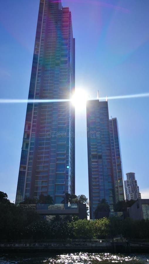 Apartments in Bangkok Thailand stock photography