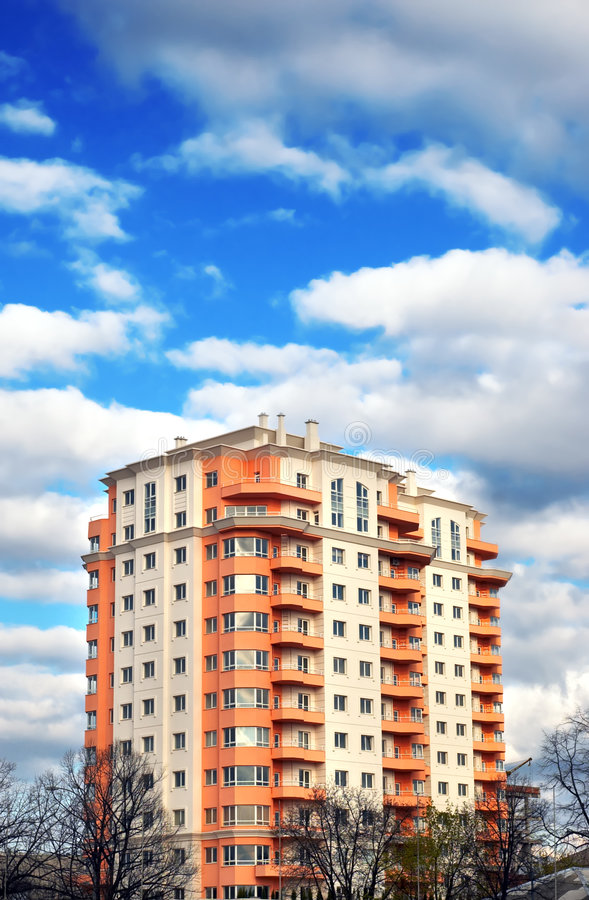 Download Apartments Block, Dream House Stock Photo - Image: 2223348