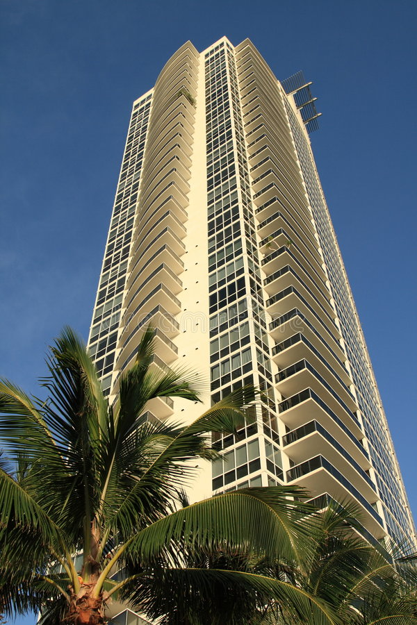Download Apartments Building In Miami Stock Image - Image: 6311641