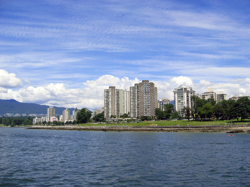 Download Apartments Buildings On The Water Stock Images - Image: 312934