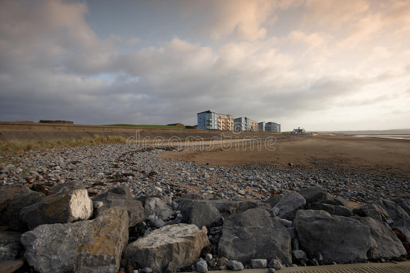 Download Apartments Overlooking The Beach Stock Photo - Image: 23248480