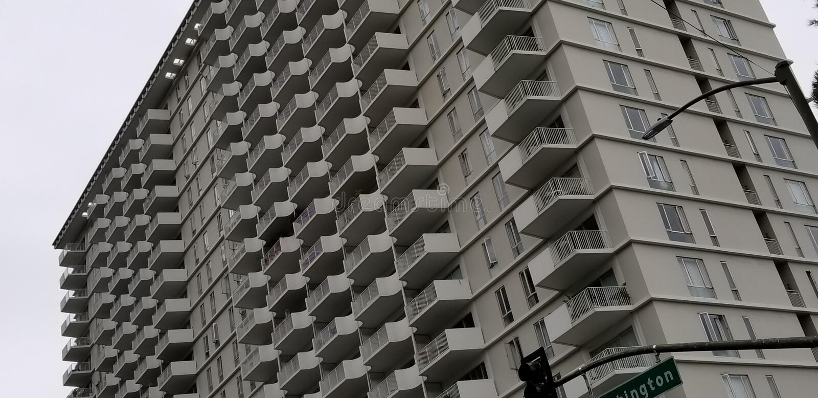 High Rise stock image