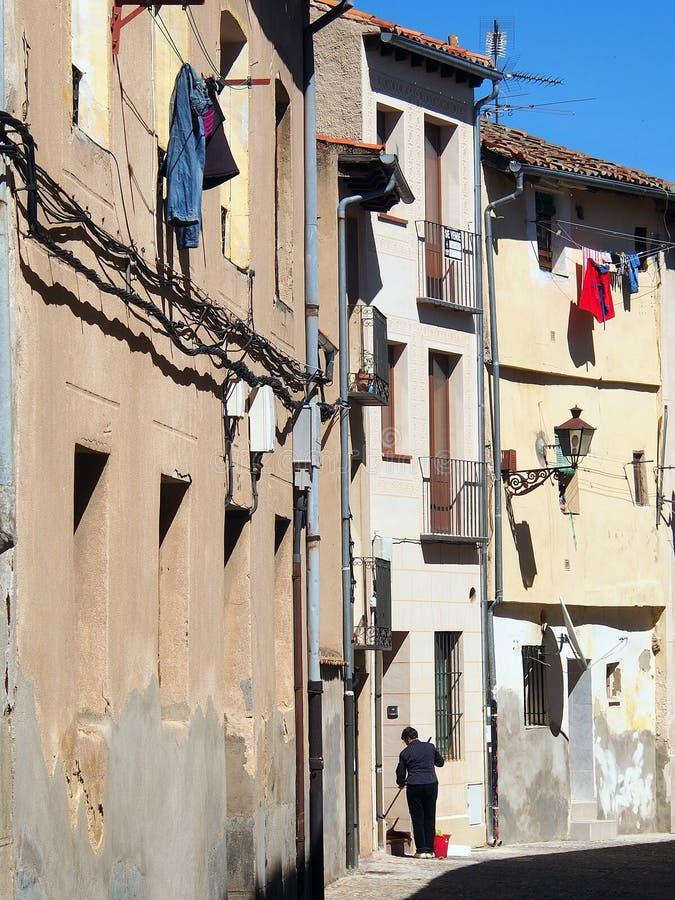 Apartments, Segovia royalty free stock photos