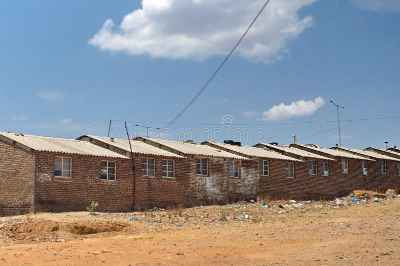 Apartments in Soweto. New apartments in Soweto, south of Johannesburg, South Africa stock image