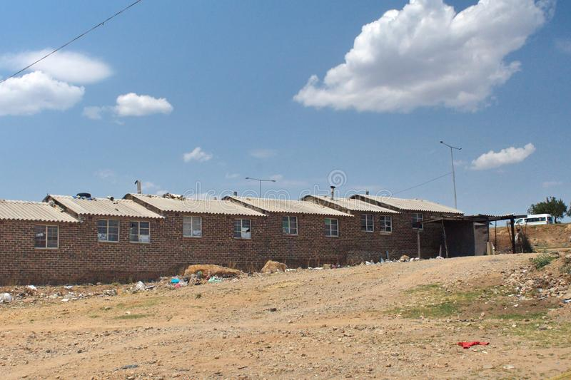 Apartments in Soweto. New apartments in Soweto, south of Johannesburg, South Africa stock images