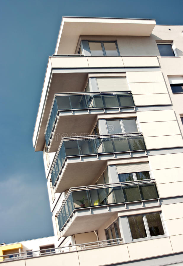 Free Apartments With Balconies Stock Photo - 19298050