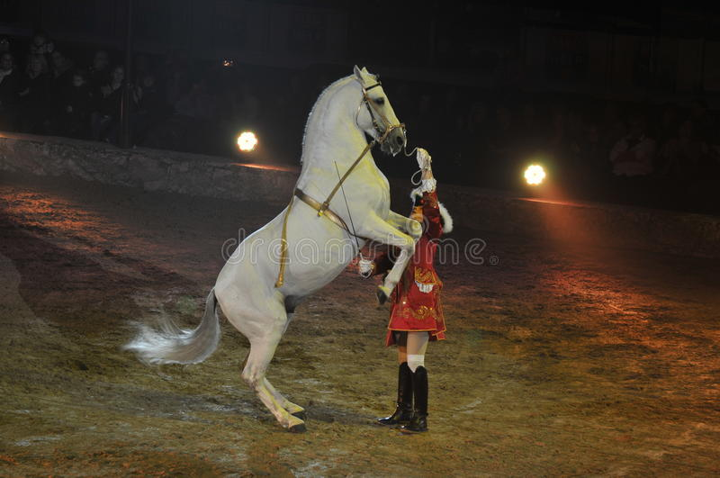 Apassionata - Horse Show royalty free stock photography