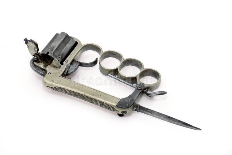 apasza mosiądza pistoletu knykcie zdjęcia stock