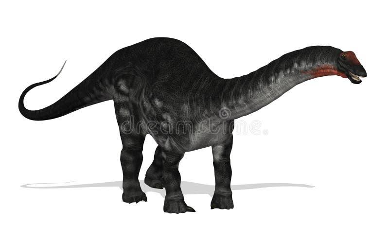 Apatosaurus vector illustratie