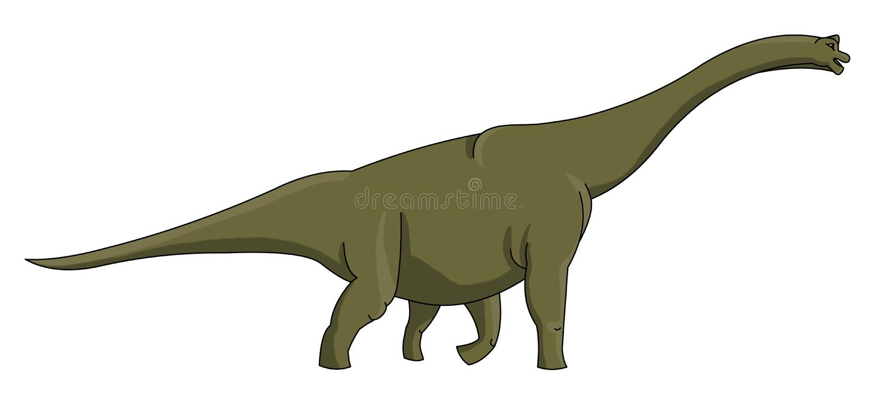 Apatosaurus Стоковые Фотографии RF