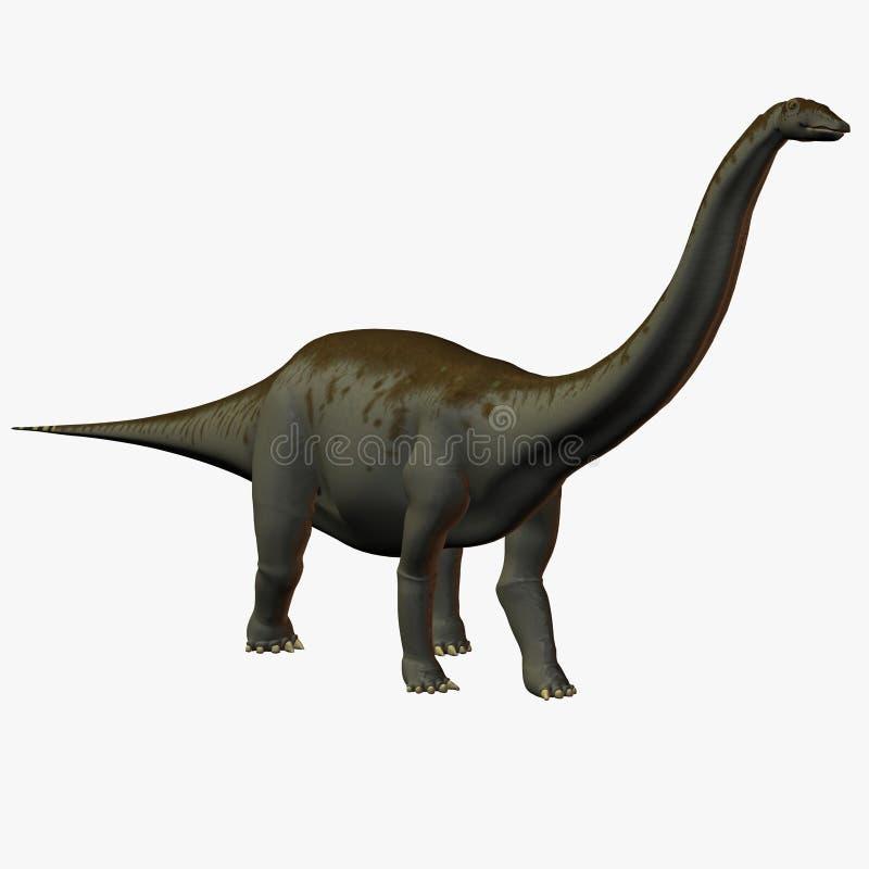 Apatosaurus ilustração stock