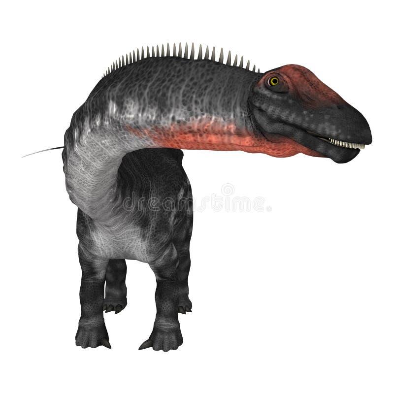 Apatosaurus do dinossauro ilustração do vetor