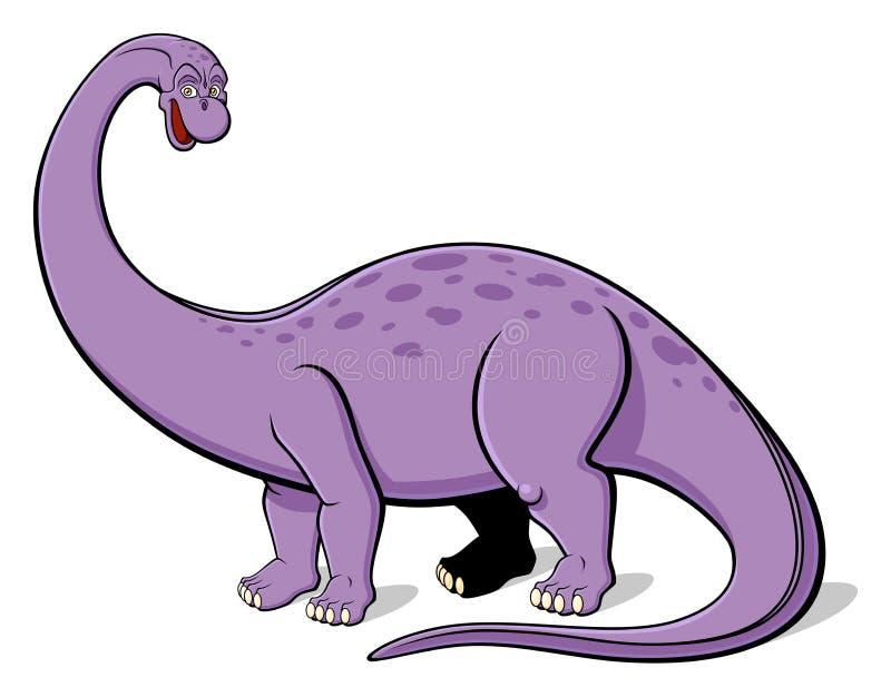 Apatosaurus para los niños stock de ilustración