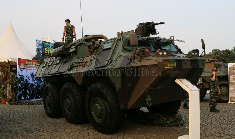 APC Τεθωρακισμένων Όχημα Μεταφοράς Προσωπικό Anoa στοκ φωτογραφία με δικαίωμα ελεύθερης χρήσης