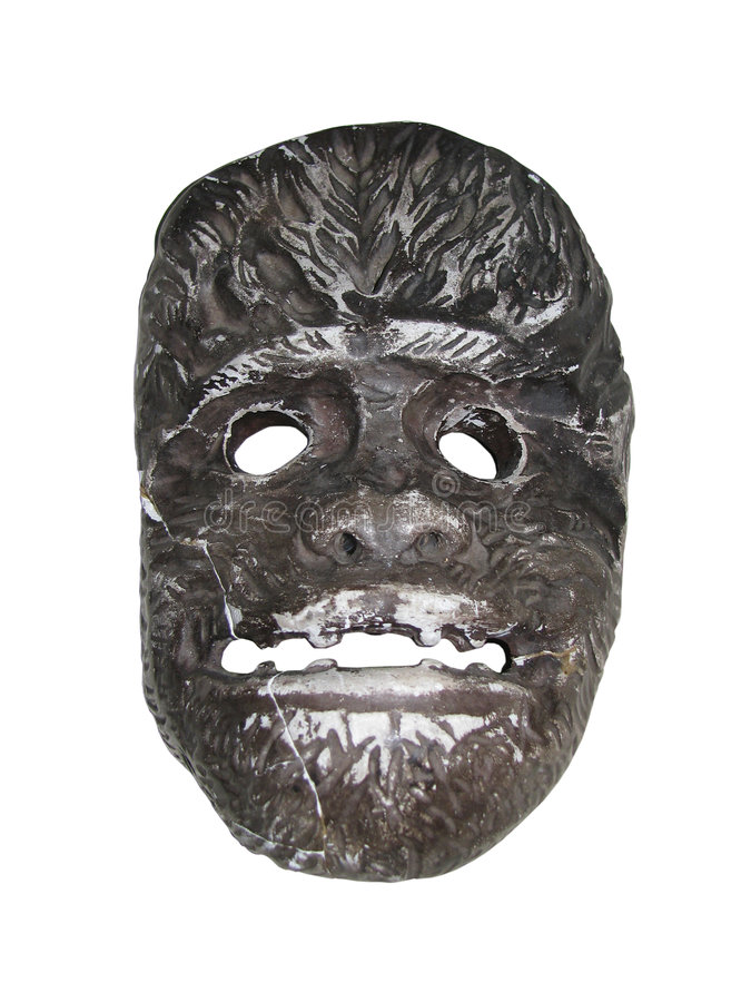 Ape Mask. The mask of ape from suhum royalty free stock image