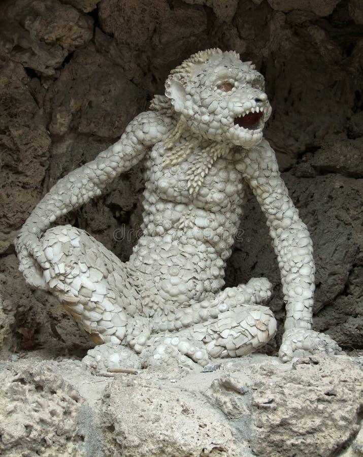 Ape Sculpture Stock Images
