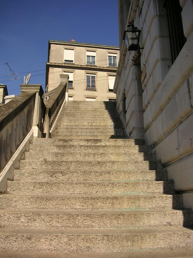 Apedreje Escadas Foto de Stock Royalty Free