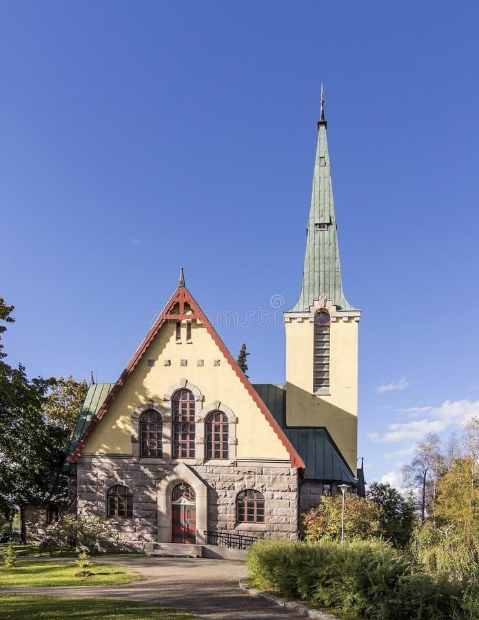 Apedreje a igreja fotos de stock royalty free