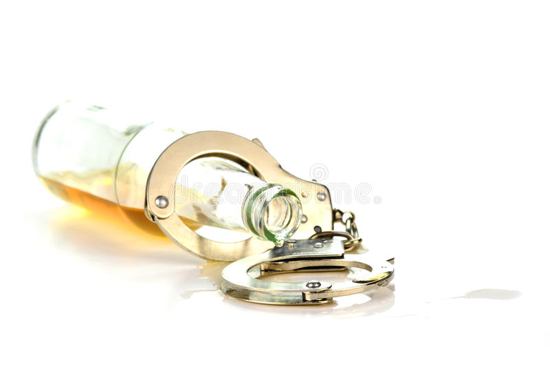 Apego de álcool imagens de stock royalty free