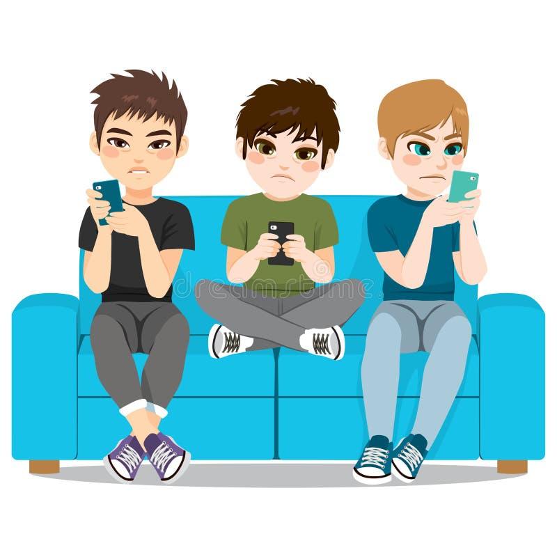 Apego de Smartphone ilustração stock