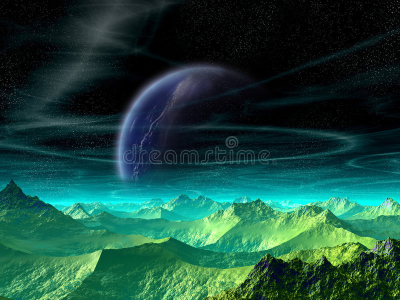 Download Apeirosstigning stock illustrationer. Bild av planetarium - 32134