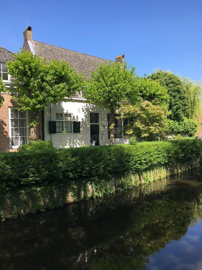 Apeldoorn. Beautiful house in Apeldoorn stock image
