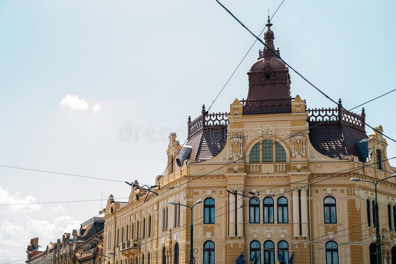 Apelor Water Palace in Timisoara, Romania. Europe royalty free stock images