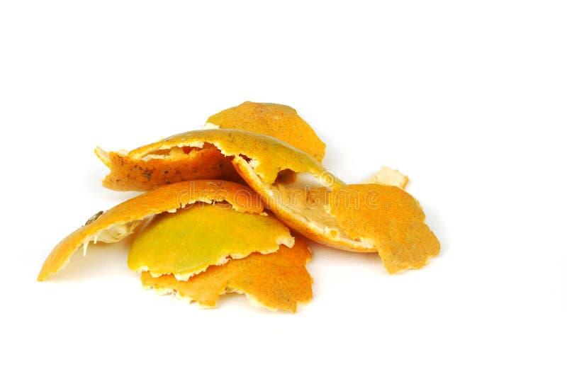 Apelsin - makro royaltyfria bilder