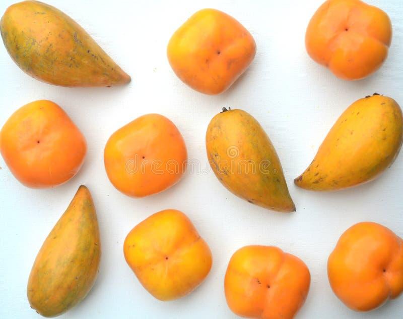 Apelsinen bär frukt med Beta-Carotene royaltyfri foto